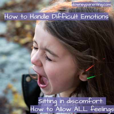 Sitting in Discomfort: How to allow ALL feelings