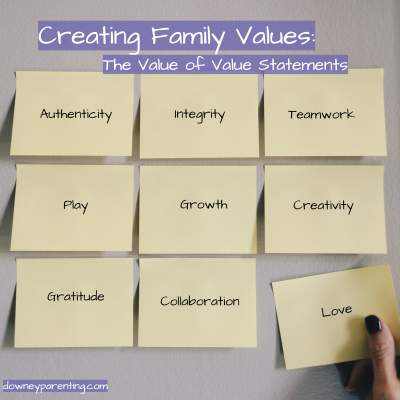 Creating Family Values